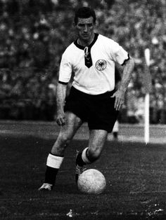 "Friedrich ""Fritz"" Walter (31 October 1920 – 17 June 2002) was a German footballer. In his time with the German national team, he made 61 caps and scored 33 goals. He usually played as an attacking midfielder or inside forward."