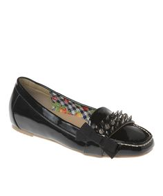 Another great find on #zulily! Black Mary Loafer by Passions Footwear #zulilyfinds