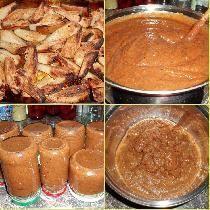 Recept Hrušková povidla z pečených hrušek - bez cukru !!