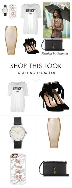"""""""Shay Mitchell, a fashion icon !!"""" by sounnat-d ❤ liked on Polyvore featuring Givenchy, Gianvito Rossi, Casetify, Yves Saint Laurent, fashionblogger and chicstyle"""