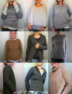 If there's one knitter who truly bowls me over with her output, it's German knitter Isabell Kraemer (aka Isa K. on her blog, Grasflecken; lilalu at Ravelry). When she recently showed multiple sweat...