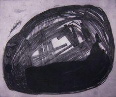 """Saatchi Online Artist: Stephanie Spindler; Etching, 2012, Printmaking """"Drift"""""""