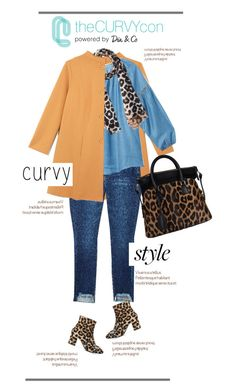 """Hey There ""Curvy Style"" !..."" by vkevans ❤ liked on Polyvore featuring Bindya, N°21, Maison Margiela, contestentry, TheCurvyCon and MyDiaStyle"