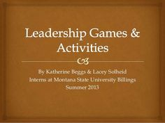 Very interesting website with presentations uploaded for all to view. Check out this one on leadership!