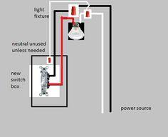 hook up new light switch