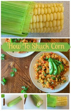 Have you ever had the problem where your corn gets really stringy when you peel it? Check out my tip for how to shuck corn cleanly and easily every time!