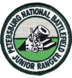 Petersburg National Battlefield, VA All you need to do is complete three of the four activities and send the pages to the rangers at Petersburg. By completing these activities, you will become a Junior Ranger.  Earn an official National Park Service certificate and badge or patch for your accomplishments!