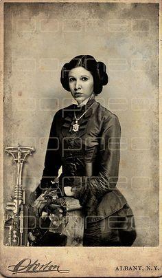 Princess Leia - SteamPunk