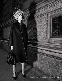 'Merino Glam Frames' by Lorenzo Bringheli for Vogue Italia October 2015