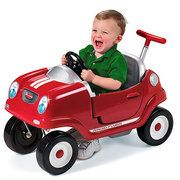 Radio Flyer Steer & Stroll Coupe Foot-to-Floor Ride-On