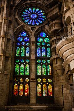 Sagrada Familia window-1