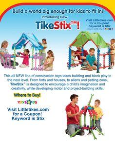 Tikes Stix™ By Little Tikes