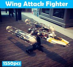 LEPIN Star Series Wars Wing Attack Fighter Assembled Building Blocks Toys - Blocks