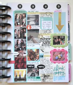 Create 365™ The Happy Planner™ weekly spread of a few days in Florida by Amanda Rose Zampelli | me & my BIG ideas