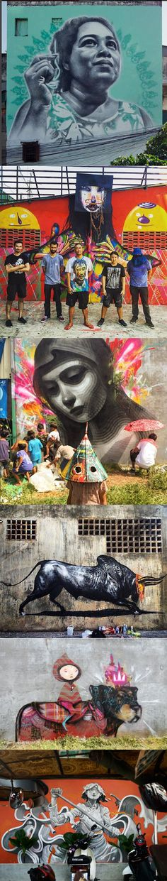 Highlights from the Igloo Hong public art project in Cambodia, 2016. Featuring public artwork by: David Choe, El Mac, Aryz, James Jean, and Esao Andrews. Igloo Hong, started by artist David Choe,  brings together some of the most amazing artists to produce public art projects all over the world.