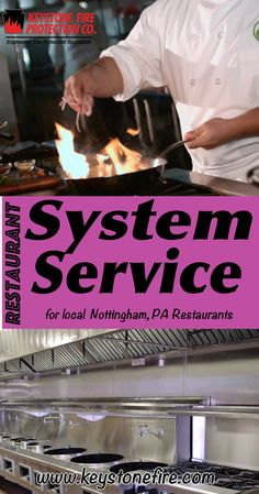 Restaurant System Service Experts for Nottingham, PA (215) 641-0100 Call Keystone Fire Protection.. We are the complete source for Restaurant System Service for Local Pennsylvania Restaurants. We keep local restaurants Fire Code Compliant.
