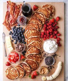 glamourgermanyWie wär's heute mit einer leckeren Pancake-Platte zum Frühstück?