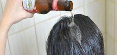 La cerveza puede ser deliciosa pero también es nutritiva para nuestro cabello, ¿Que dices, te animarías a probar este remedio casero?
