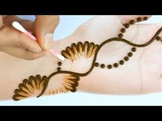 Mehndi Designs Front Hand, Henna Tattoo Designs Simple, Mehndi Designs Feet, Mehndi Designs For Kids, Simple Arabic Mehndi Designs, Henna Art Designs, Mehndi Designs For Beginners, Modern Mehndi Designs, Mehndi Designs For Fingers