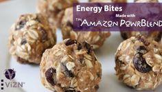Amazon PowrBlend Energy Bites