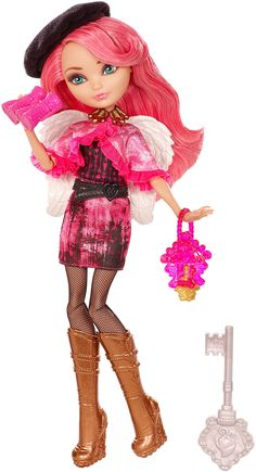 Ever After High Through The Woods C. Cupid Doll - Shop Ever After High Fashion Dolls, Playsets & Toys Ever After High, Monster High Characters, Monster High Dolls, Draculaura, Ashlynn Ella, Lizzie Hearts, Mattel Shop, Emilia, Ever After Dolls