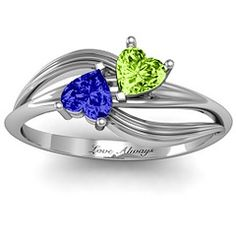 "A ""Couple"" of Hearts Couples Ring"
