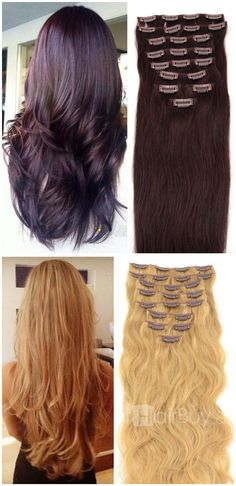 Let's start your beautiful from hair. With hair extension, you can change your hairstyle every day!