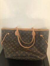 fa80eec63af24 100% Authentic LOUIS VUITTON Monogram Neverfull PM Tote Bag Louis Vuitton  Neverfull Monogram