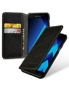 9f8a52f207c TETDED Premium Leather Case for Samsung Galaxy A3 (2017) SM-A320 SM-