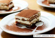 The real italian tiramisu Tiramisu - az No Bake Desserts, Dessert Recipes, Italian Tiramisu, Xmas Dinner, Hungarian Recipes, Something Sweet, Cake Cookies, Tapas, Food And Drink