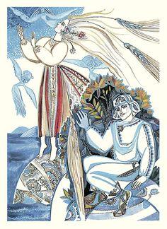Волшебный короб. Финские народные сказки. Художники Тамара Юфа, Маргарита Юфа