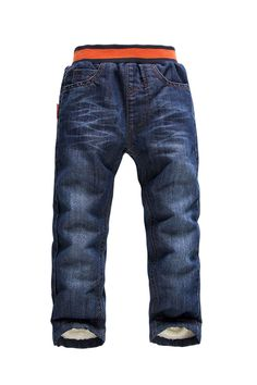 Find More Pants Information about Retails 2014 NEW KK Rabbit brand children pants thick winter warm cashmere Baby boys/girls  jeans solid trouser 3 7 y,High Quality Pants from Shanghai Wanxi Clothing Ltd on Aliexpress.com