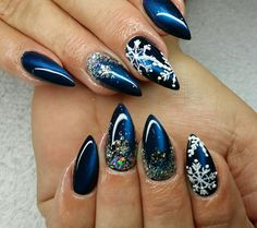 Nail Design Fullcover Winter