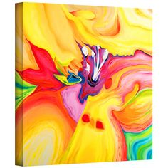 Artist: Susi FrancoTitle: Secret Life of LilyProduct type: Gallery-wrapped canvas Overstock.