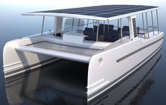SoelCat 12 Solar Electric Vessel from SoelYachts for Eco-Tourism