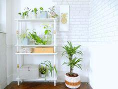 DIY -  transformer une table en étagère - Fallait juste y penser !!!