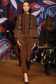 Etro #Fall2014 #RTW #fashion #MilanFW #runway