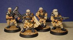Some Desert Imperial Guards