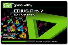 Today crackmania is sharing Video editing software Edius pro 7 Crack with serial number, keygen, serial key and activation keys full version free download.