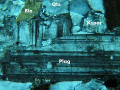 Plagioclase in Granodiorite from St. St Cloud, Fabric Textures, Minnesota, Clouds, Crystals, Green, Photos, Blue, Rocks
