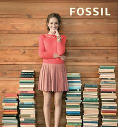 FOSSIL bought these books from me!  sorrythankyou79.etsy.com