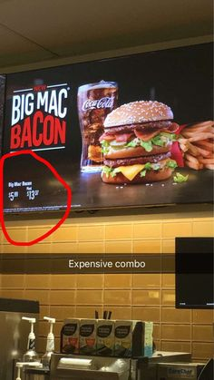 Why is the sandwich only $5.99 but the combo is almost $14? (Canada) #McDonalds #food #fastfood #delicious #eating #happymeal