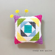 crazy mom quilts: the pincushion fun continues
