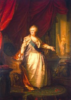 Catherine II (the Great), Empress of Russia;
