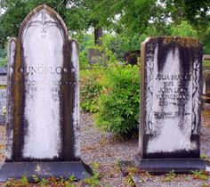 Southern Graves: John and Julia Youngblood (Tombstones Tuesday)