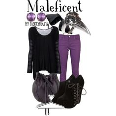 Maleficent, created by lalakay.polyvore.com