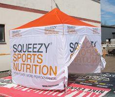 3x3m pop up telk: Squeezy sports DIGITRÜKK - http://stereomeedia.com/popup-telgid/3x3m-pop-up-telk/