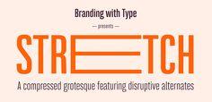 New! Bw Stretch by Branding With Type ☞ https://www.hypefortype.com/recently-added/bw-stretch-18.html