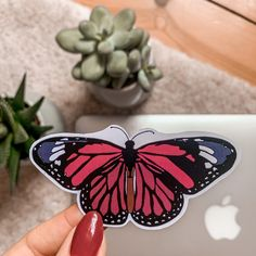 This is my handmade and waterproof Vinyl-Sticker Sticker Shop, Sd, Slippers, Butterfly, Flats, Vintage, Handmade, Shopping, Shoes