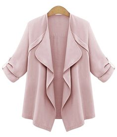 Trendy Turn-Down Collar Long Sleeve Solid Color Women's Coat